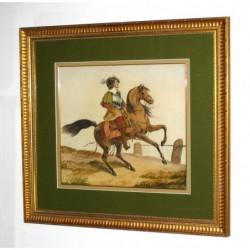 Muszkieter na koniu -...