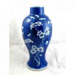 Niebieski chiński wazon