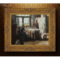 Obraz olejny- Edward Antoon...