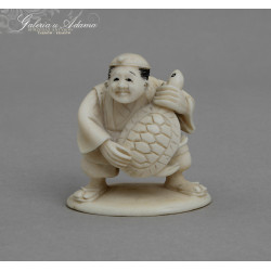 XIX/XX w- FIGURKA NETSUKE...