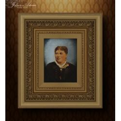 Obraz olejny-XIX w-Portret...
