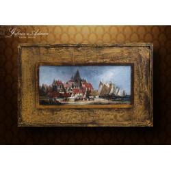 Obraz olejny- Van HEEN (72...