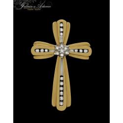 Krzyżyk złoty-10 karat...