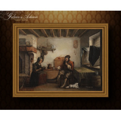 Obraz olejny- Frans LAURENS...