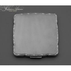 Puderniczka srebrna-835 z...