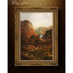 Obraz olejny – Szkocja XIX...