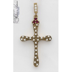 Krzyżyk srebrny-800...