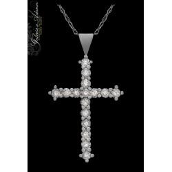 Krzyżyk złoty z łańcuszkiem...