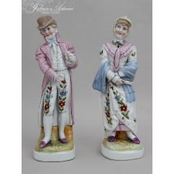 XIX w-Para figurek...