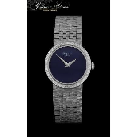 """Ekskluzywny damski zegarek"""" CHOPARD """"z białego złota-18 k z bransoletką złotą-Mechaniczny-PIĘKNY !"""