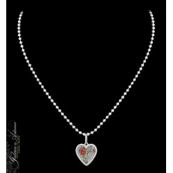 Naszyjnik srebrny-925 z...