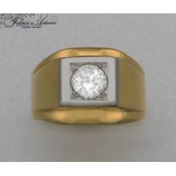 Sygnet-pierścionek złoty-18...
