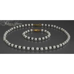 Komplet biżuterii:...