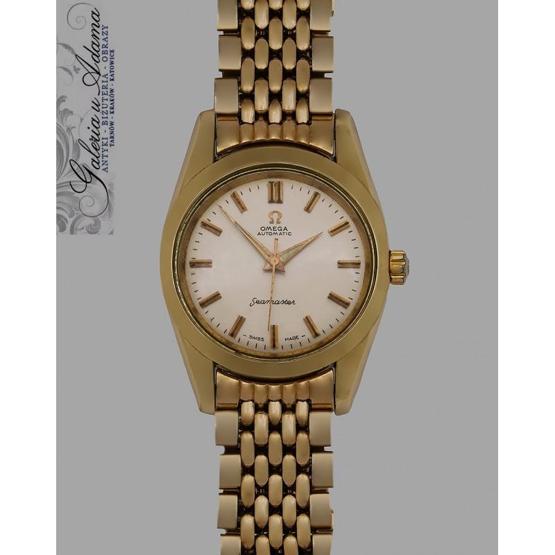 zegarek na bransolecie omega