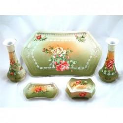 Porcelanowe ozdoby 5 sztuk